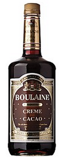 Boulaine Creme de Cocoa Dark 1.00l - Case of 12